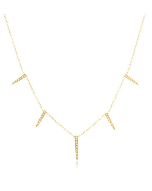 Jacquie Aiche | Metallic 5 Ice Pick Necklace | Lyst