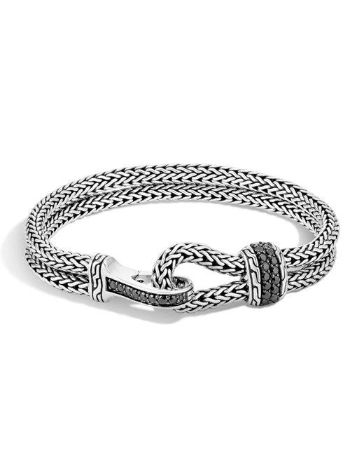 John Hardy Men S Classic Chain Hook Station Bracelet In