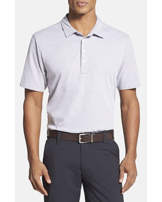 Travis Mathew | Gray Crenshaw Golf Polo Shirt for Men | Lyst