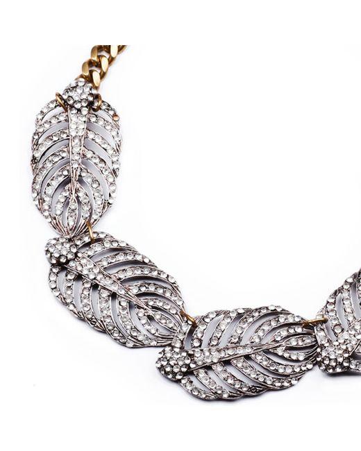 Lulu Frost | Metallic Drift Necklace | Lyst