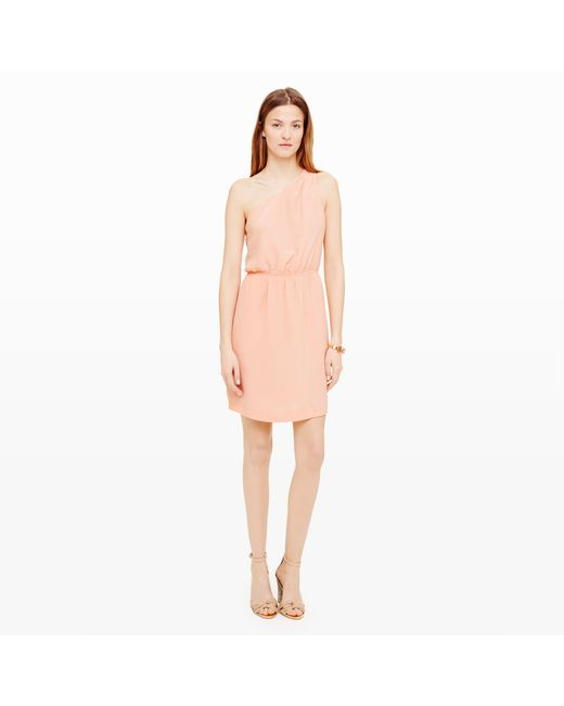Club Monaco | Pink Logan Silk Dress | Lyst