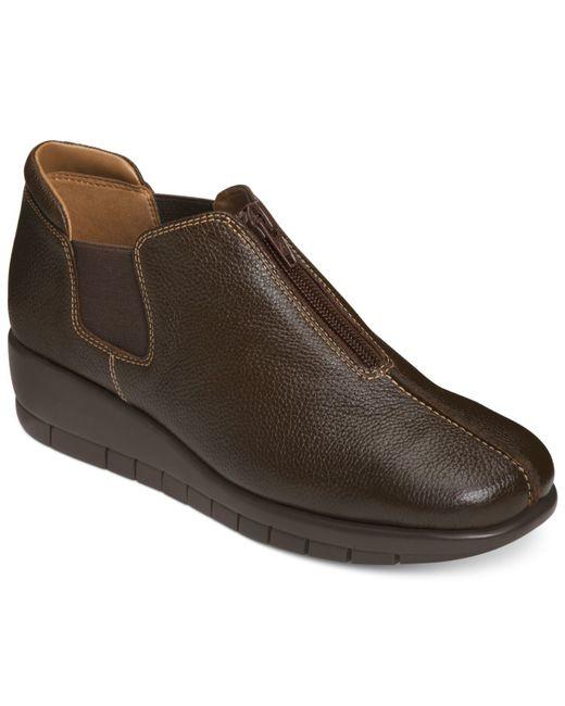 Aerosoles | Brown Landfall Ankle Booties | Lyst