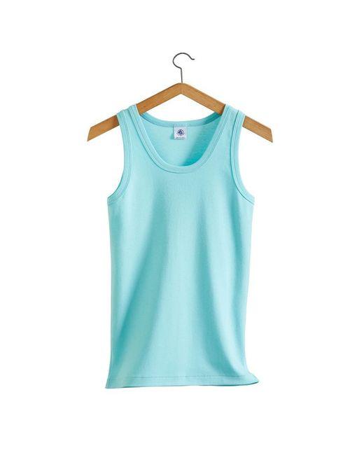 Petit Bateau   Blue The Essential Women's Tank Top In Vintage Cotton   Lyst