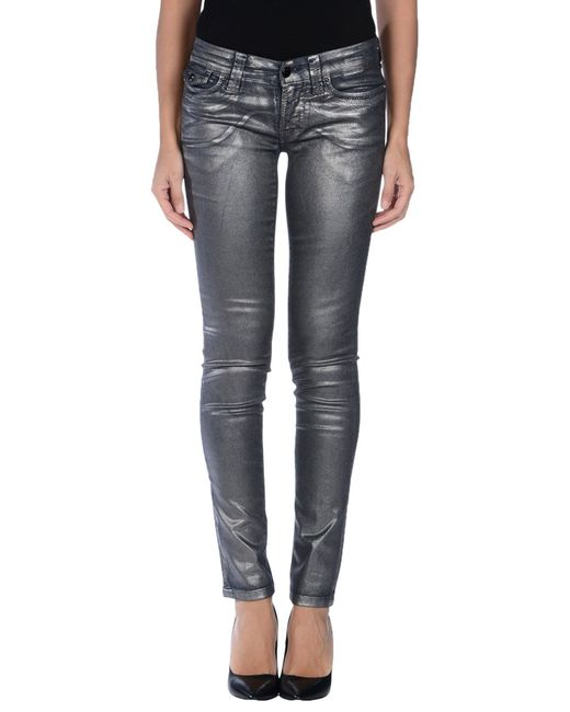 S.o.s By Orza Studio | Blue Denim Trousers | Lyst