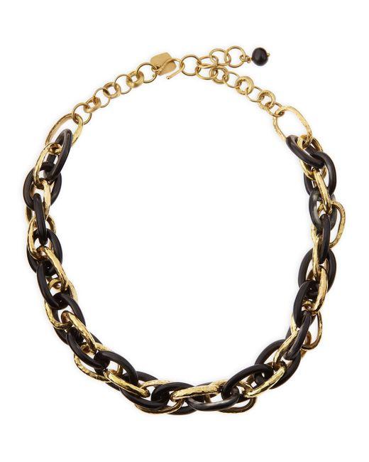 Ashley Pittman | Metallic Ndovu Dark Horn & Bronze Necklace | Lyst