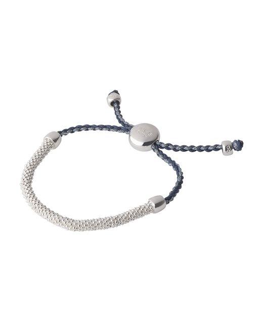 Links of London | Effervescence Cord Blue Bracelet | Lyst