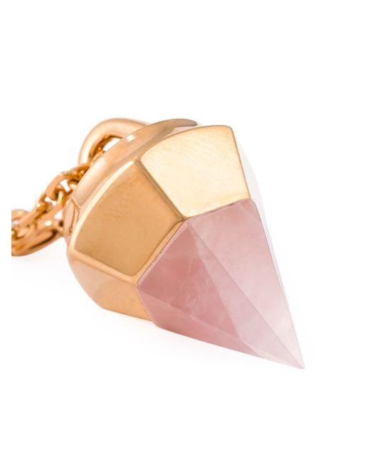 Vita Fede | Black 'thea Stone' Necklace | Lyst