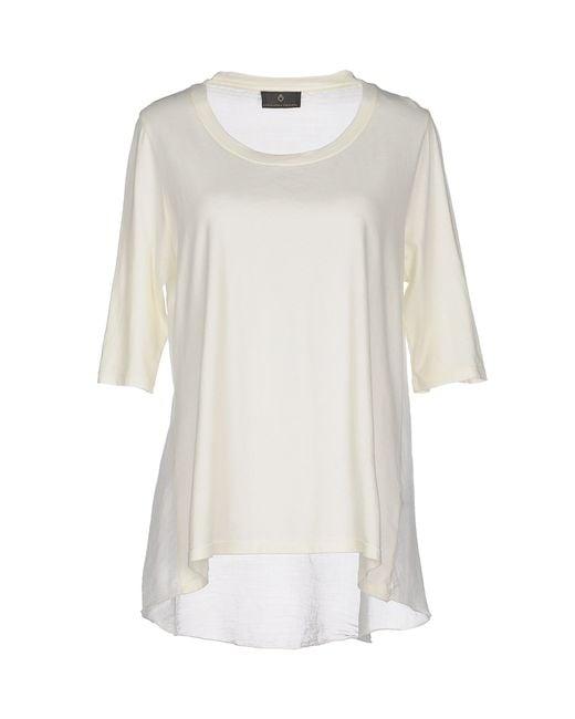 Cavalleria Toscana | White T-shirt | Lyst
