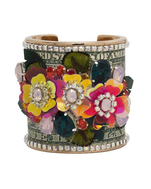 Bijoux De Famille   Multicolor Flower Power Cuff   Lyst