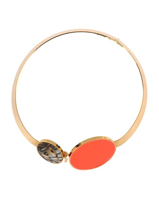 Vickisarge | Orange Necklace | Lyst