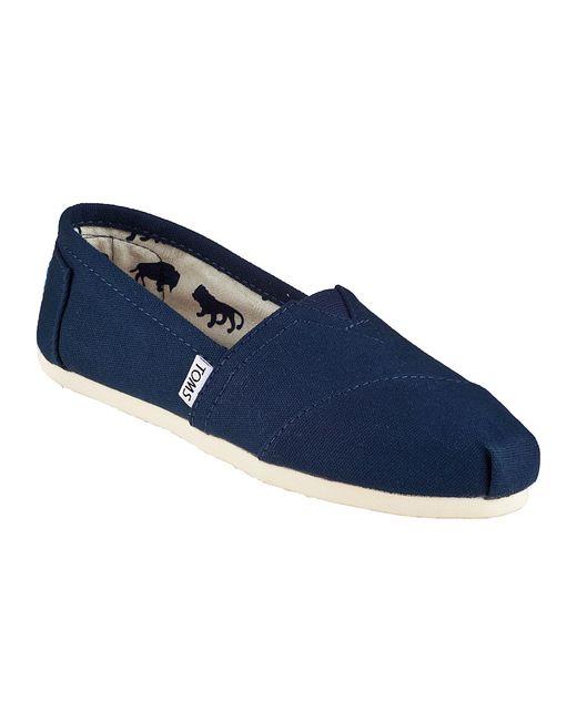 TOMS | Blue Classic Slip-on Navy Fabric | Lyst