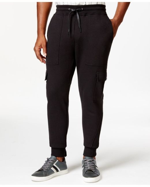 Sean John | Black Men's Pocket Jogger Pants for Men | Lyst
