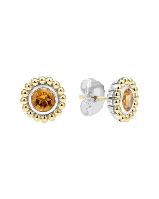 Lagos | Metallic Stone Stud Earrings | Lyst