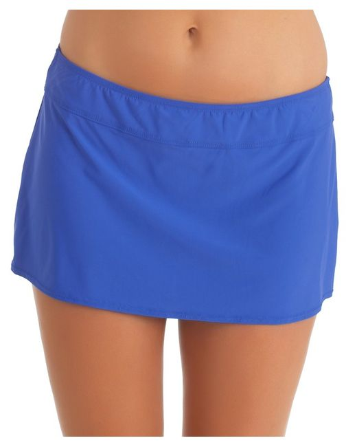 athena finesse a line swim skirt in blue save 50 lyst