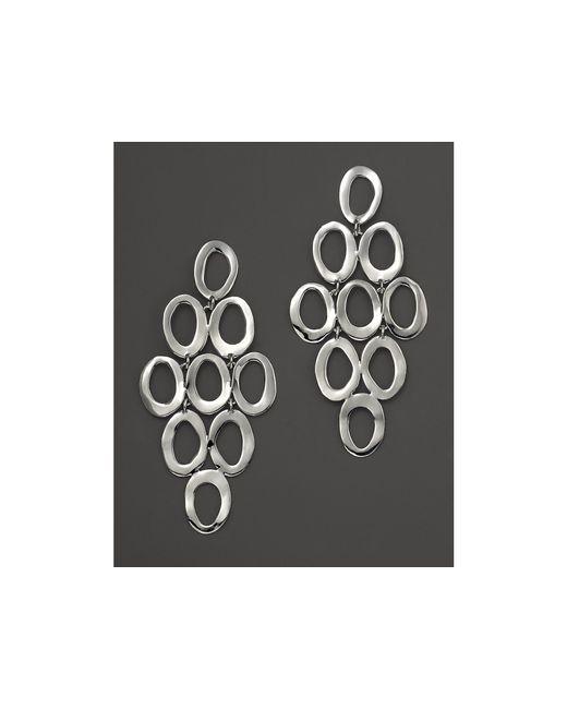 Ippolita | Metallic Silver Open Cascade Post Earrings | Lyst