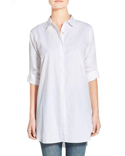M.i.h Jeans | White Oversize Cotton Boyfriend Shirt | Lyst
