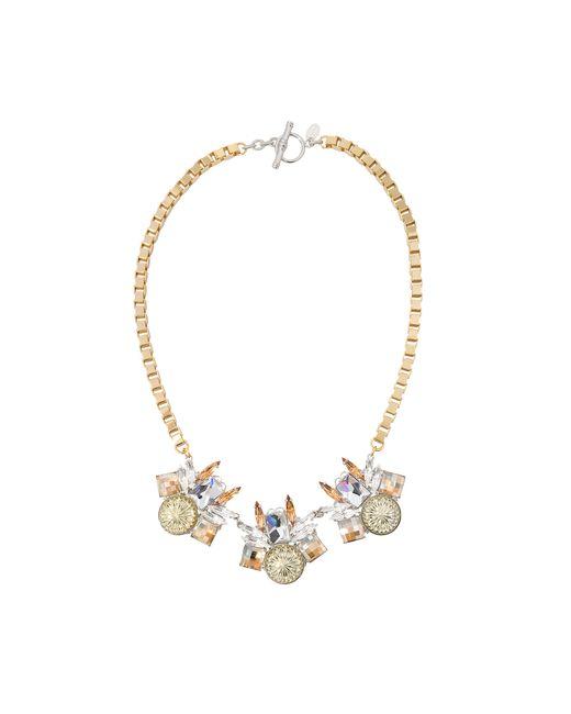 Anton Heunis   Metallic Alexis Geometrical Necklace   Lyst