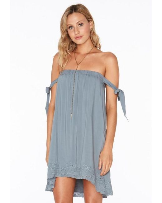 L*Space - Blue Sweet Dreams Dress Slated Glass - Lyst