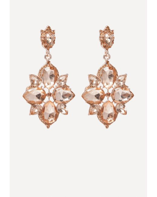 Bebe - Multicolor Starburst Drop Earrings - Lyst