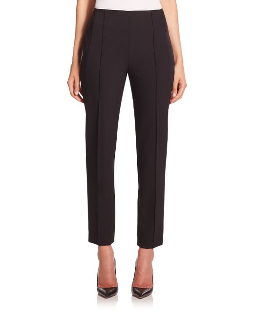 ESCADA | Black Tuska Cropped Techno Pants | Lyst