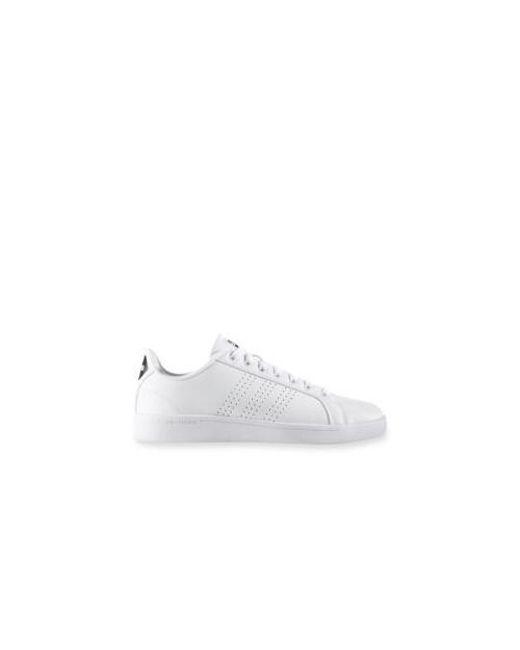 Adidas  mujer 's cloudfoam Lyst ventaja limpiar zapatilla en blanco
