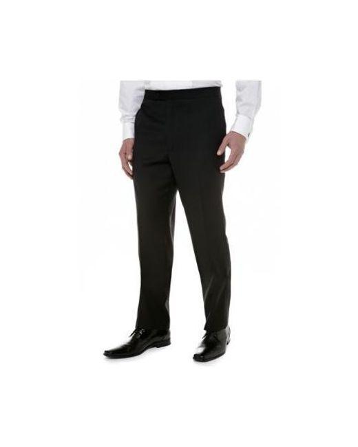 7aec71231e Lyst - Calvin Klein Slim Fit Tuxedo Pants in Black for Men