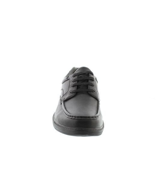 ... Clarks - Black Keeler Walk Wide Fit for Men - Lyst ...