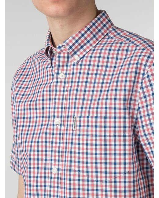 Ben Sherman - Multicolor Long Sleeve House Gingham Shirt for Men - Lyst