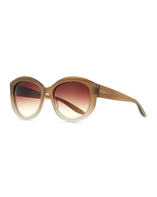 Barton Perreira - Brown Patchett Gradient Sunglasses - Lyst
