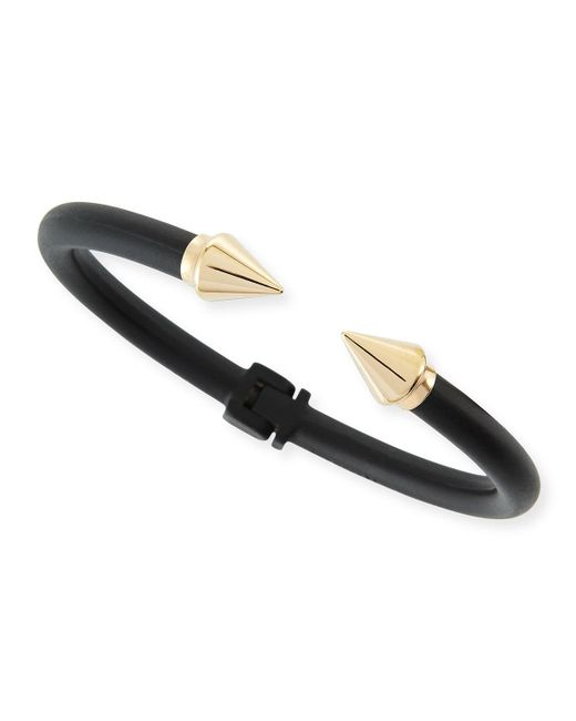 Vita Fede - Black Titan Mini Two-tone Bracelet - Lyst