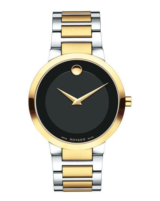 Movado - Metallic 39.2mm Modern Classic Watch for Men - Lyst