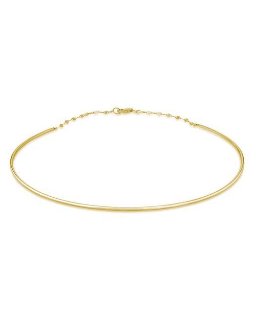 Lana Jewelry - Metallic 14k Thin Wire Choker Necklace - Lyst