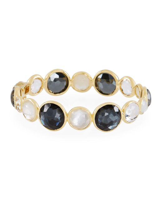 Ippolita - Black 18k Lollipop® Hinge Bracelet In Piazza - Lyst