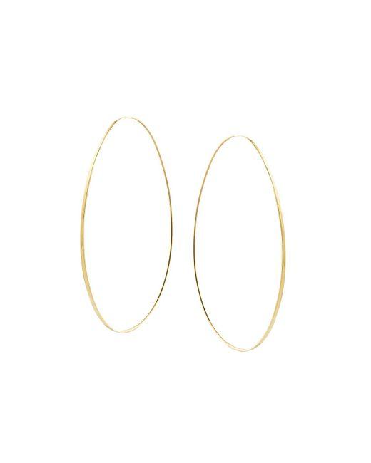 Lana Jewelry - Metallic Large Tear Hoop Earrings - Lyst