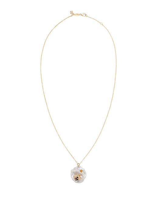 Of Rare Origin - Metallic Bee My Honey Pendant Necklace - Lyst
