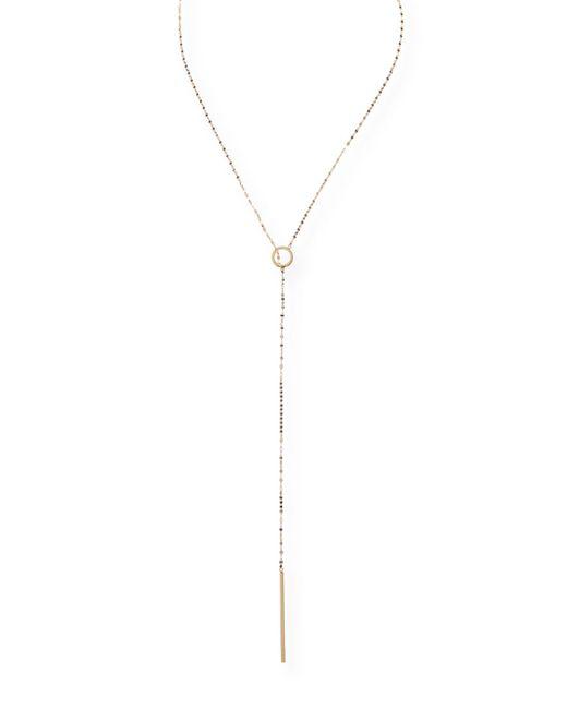 Lana Jewelry - Metallic Bond 14k Long Circle Lariat Necklace - Lyst