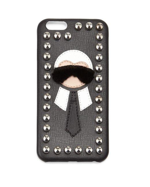 Fendi - Gray Karlito Phone Cover - Lyst