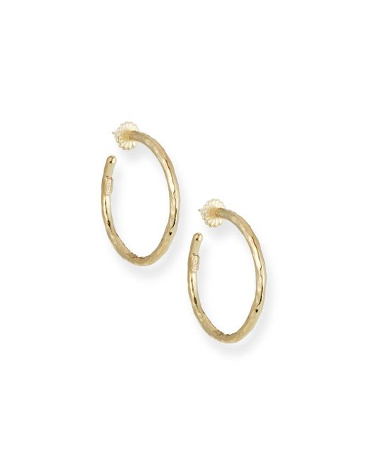 Ippolita - Metallic Glamazon 18k Gold #3 Hoop Earrings - Lyst