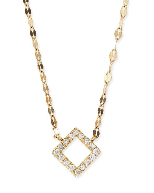 Lana Jewelry - Metallic Diamond Pendant Necklace - Lyst