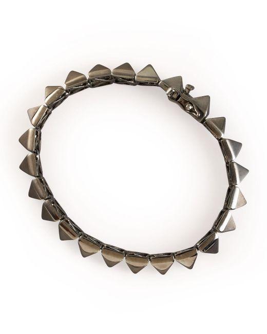 Eddie Borgo - Metallic Pyramid Bracelet - Lyst