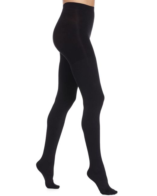 Spanx - Luxe Blackout Opaque Tights - Lyst