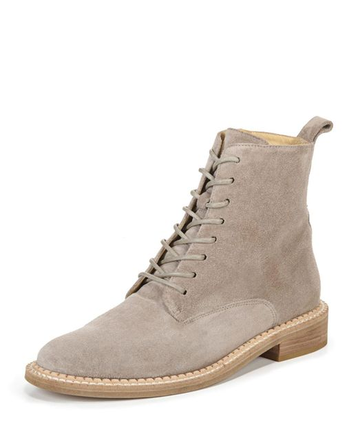 Vince - Gray Cabria Sport Suede Lace-up Boot - Lyst