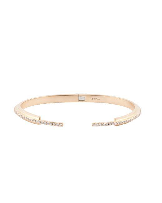 Lana Jewelry - Metallic Diamond Tip Stacking Cuff Bracelet - Lyst