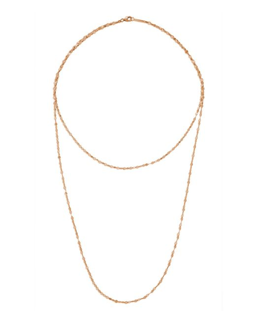 Lana Jewelry - Metallic 14k Double Blake Layered Chain Necklace - Lyst