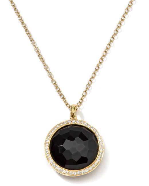 Ippolita - Metallic 18k Gold Rock Candy Lollipop Necklace With Diamonds - Lyst