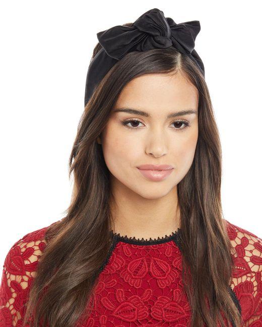 Jennifer Behr - Black Rosie Silk Head Wrap - Lyst