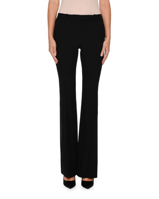 Alexander McQueen - Black Classic Crepe Suiting Pants - Lyst