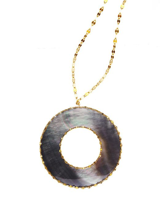 Lana Jewelry   Yellow Elite Mystiq Ring Pendant Necklace   Lyst