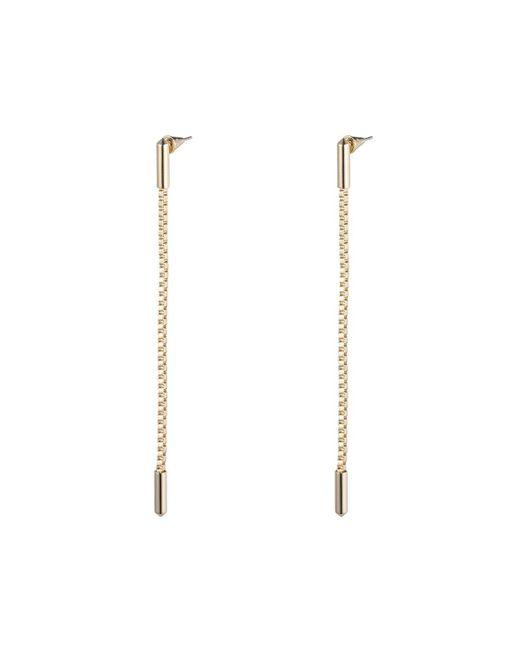 Eddie Borgo - Metallic Idle Line Chain Drop Earrings - Lyst
