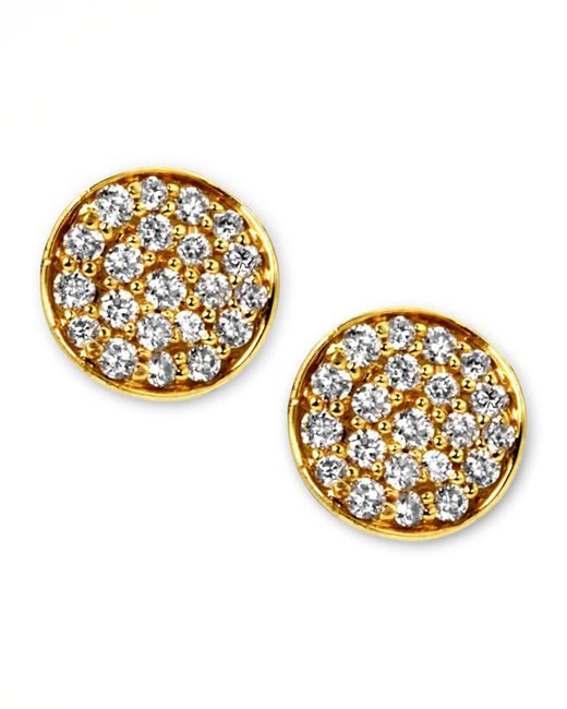 Ippolita | Metallic Stardust Mini Diamond Stud Earrings | Lyst